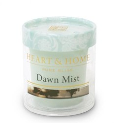 Heart and Home Fragranced Candles Dawn Mist Votive - HH042