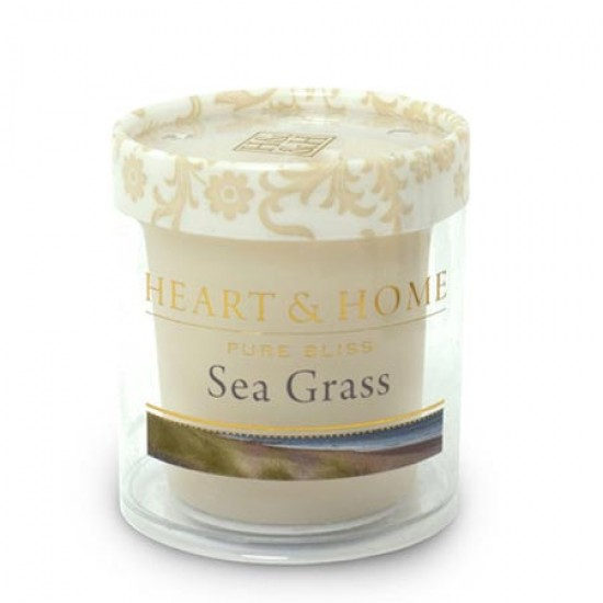 Heart and Home Fragranced Candles Sea Grass Votive - HH046