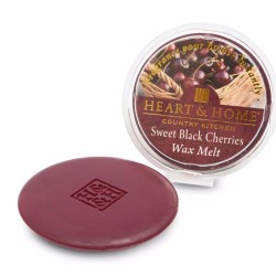 Heart and Home Fragranced Wax Sweet Black Cherries - HH052