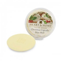Heart and Home Fragranced Wax Melts Christmas Cupcake - HH090