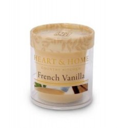 Heart and Home Fragranced Candles French Vanilla Votive - HH031