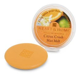 Heart and Home Fragranced Wax Melts Citrus Crush HH047