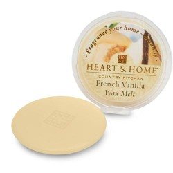 Heart and Home Fragranced Wax Melts French Vanilla HH054