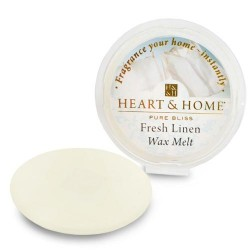 Heart and Home Fragranced Wax Melt Fresh Linen  - HH053