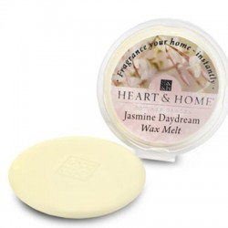 Heart and Home Fragranced Wax Melts Jasmine Daydream HH055