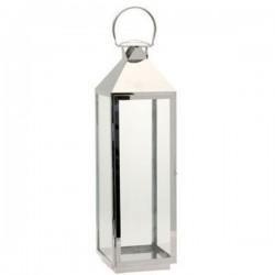Large Stainless Steel Lantern 75cm - LAN002
