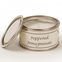 Pintail Paint Pot Candles | Peppered Pomegranate Fragrance - CA014