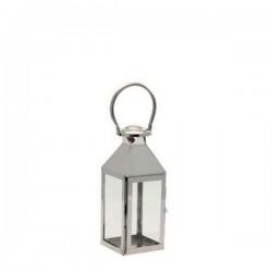 Small Stainless Steel Lantern 27cm - LAN003