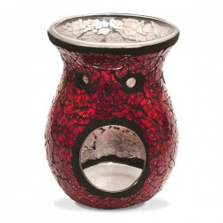 Heart and Home Wax Melt Burner Red Mosaic - HH062