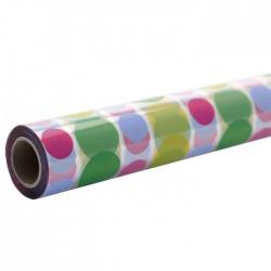 Disco Dots Cellophane Roll 100m - FILM010