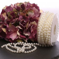 6mm Ivory Pearls on 10m Roll - PEA105