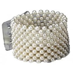 Classic Cream Wrist Corsage Bracelet - WCOR100