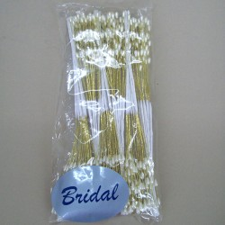 Seed Pearl Branches Gold - CRY024