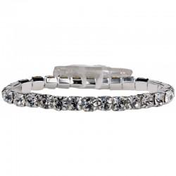 Blingzz Wrist Corsage Bracelet Silver - WCOR137