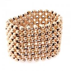 Classic Rose Gold Wrist Corsage Bracelet - WCOR112