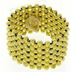 Classic Gold Wrist Corsage Bracelet - WCOR120