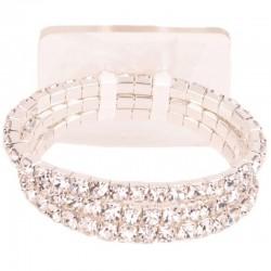 Dainty Childrens Wrist Corsage Bracelet Silver - WCOR132