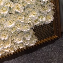 DIY Flower Wall Base 25cm - FS030