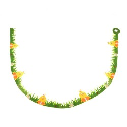 Easter Decorations Felt Chick Garland 160cm - EAS002