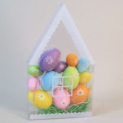Easter Decorations | Pastel Coloured Hanging Eggs Boxed - EGG001
