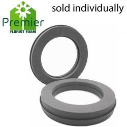 12inch Dry Foam Wreath Ring Plastic Back - FS050