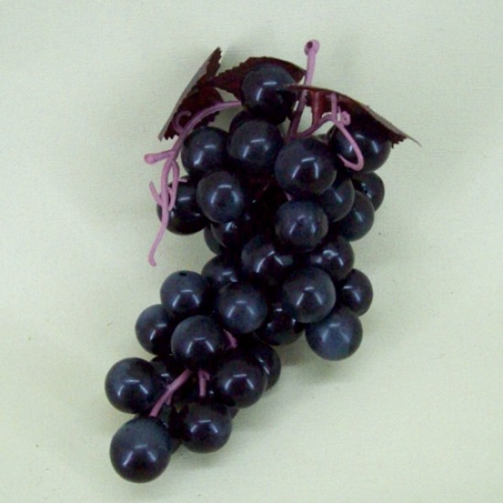 Artificial Grapes Black - GRA500 GG3