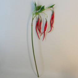 Artificial Chillies on Long Stem Red - CHI003 HH4