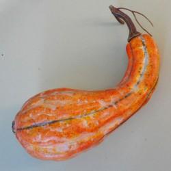 Artificial Gourd Orange 25cm - PUM008 GS3B