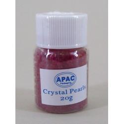 Crystal Pearls Gel Beads Pink 20g - CP004