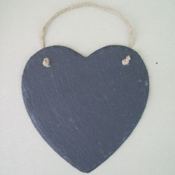 Large Slate Heart - SL001