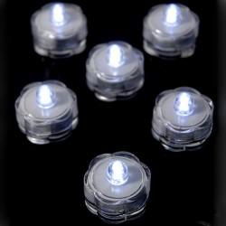 Submersible LED Vase Lights 6 Pack - LED004