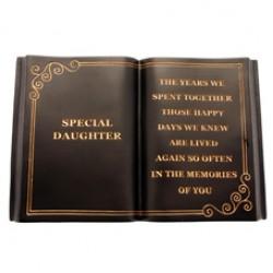 Special Daughter Memorial Book Graveside Tribute - FB010 6D