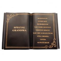 Special Grandma Memorial Book Graveside Tribute - FB003 9E