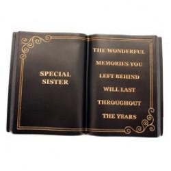 Special Sister Memorial Book Graveside Tribute - FB006 11A
