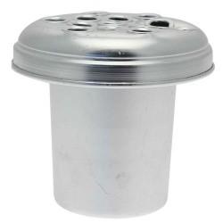 Silver Zinc Grave Pot - GP001