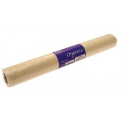 Cream Organza Roll 9m x 40cm - ORG002