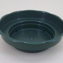 Small Round Plastic Dish 12cm - PT001