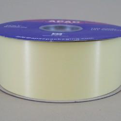 Florist Supplies Poly Ribbon Ivory (Eggshell) - BR030IV