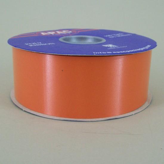 Florist Supplies Poly Ribbon Orange - BR030OR