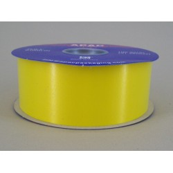 Florist Supplies Poly Ribbon Yellow - BR030YE
