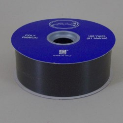 Florist Supplies Poly Ribbon Black - BR030BK