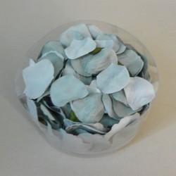Artificial Rose Petals Grey Green - R300