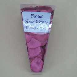 Rose Petals Fuchsia Pink Biodegradable Paper - R318