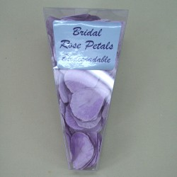 Rose Petals Lavender Purple Biodegradable Paper - R313