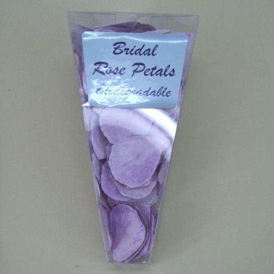 Rose Petals Lavender Purple Biodegradable Paper - R313