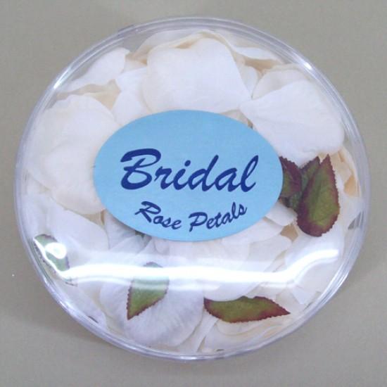 Rose Petals Cream Ivory Silk - R307
