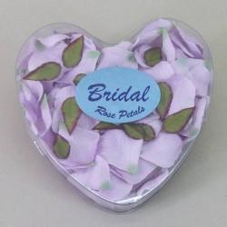 Silk Rose Petals Lilac - R326
