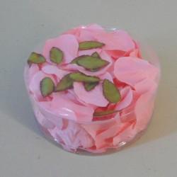Silk Rose Petals Pink - R322