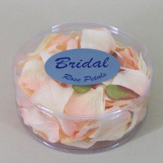 Rose Petals Peach Silk - R452