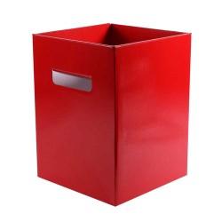 Transporter Vase Flower Box Pearlised Red  - BB022